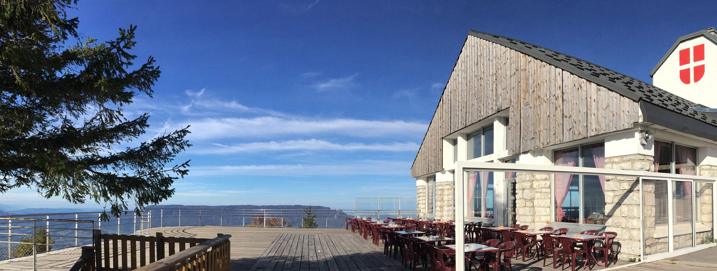Restaurant panoramique - Le Revard Savoie